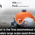 มารู้จักหุ่นยนต์ BeachBot ที่ใช้ในการวาดลวดลายบนชายหาด (มีคลิป)
