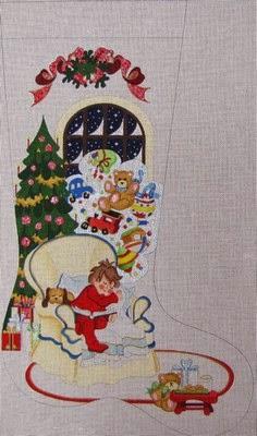 cs 306 - Strictly Christmas Needlepoint