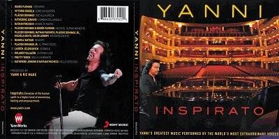 Yanni Inspirato CD 2014
