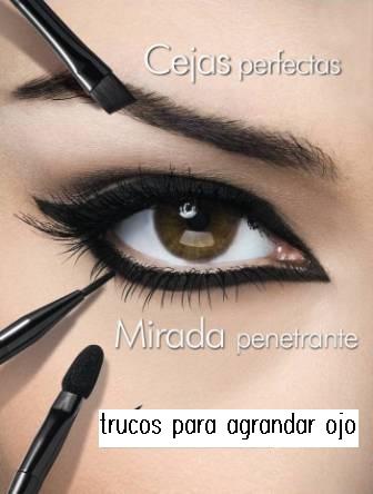 como maquillar ojos pequeos