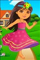 Dora In School Yard