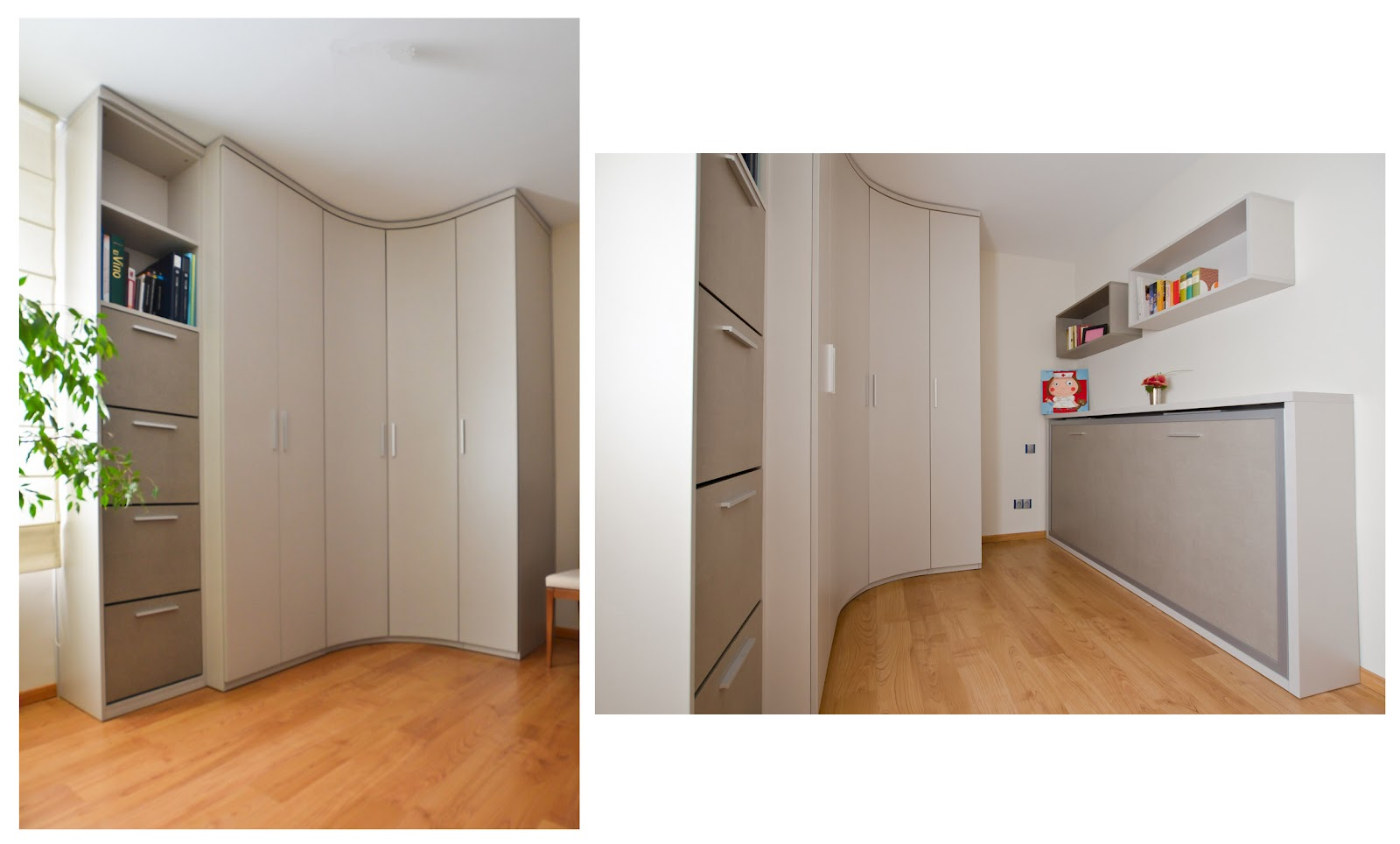 Armarios en esquina para dormitorios armario dos puertas for Armario esquinero ikea