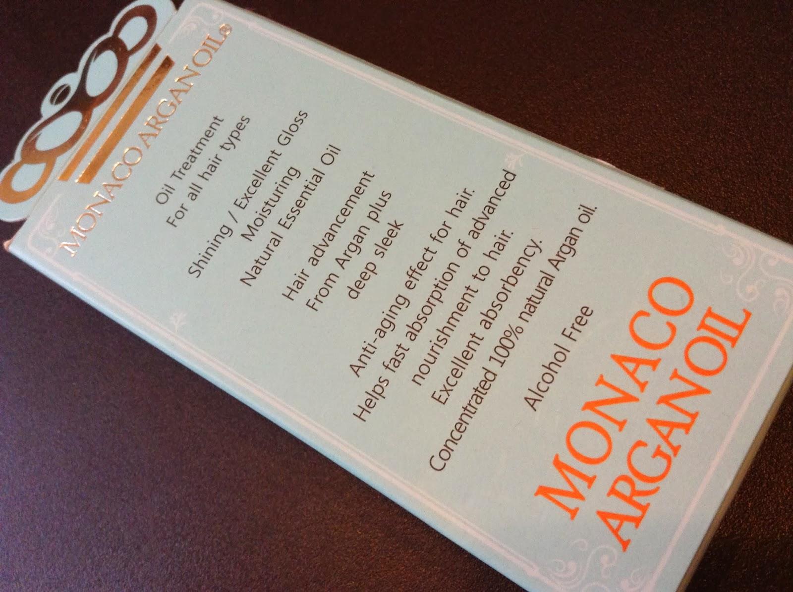 >>唔試唔知咁好用*藍色摩洛哥堅果油 Monaco Argan Oil 極緻順髮精華 韓國製