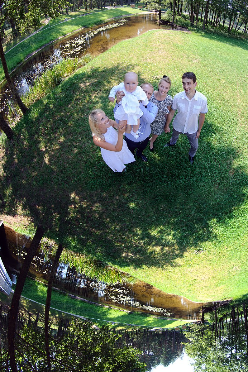 Krikštynų fotosesija Molėtuose