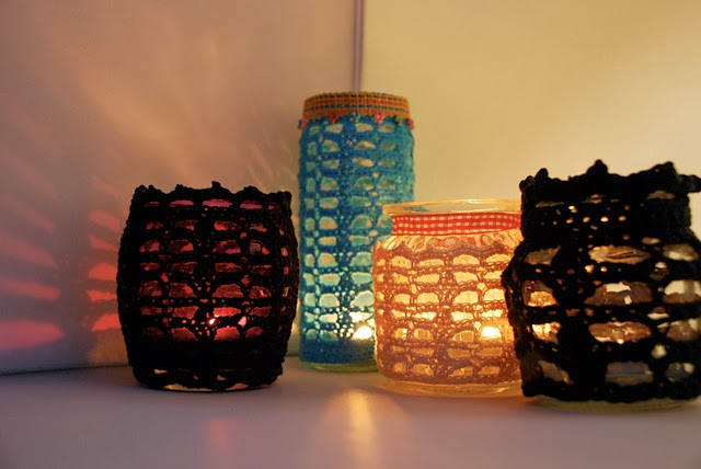 free crochet votive pattern