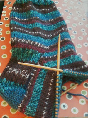 SSS Second Sock Syndrome, hand knitting socks
