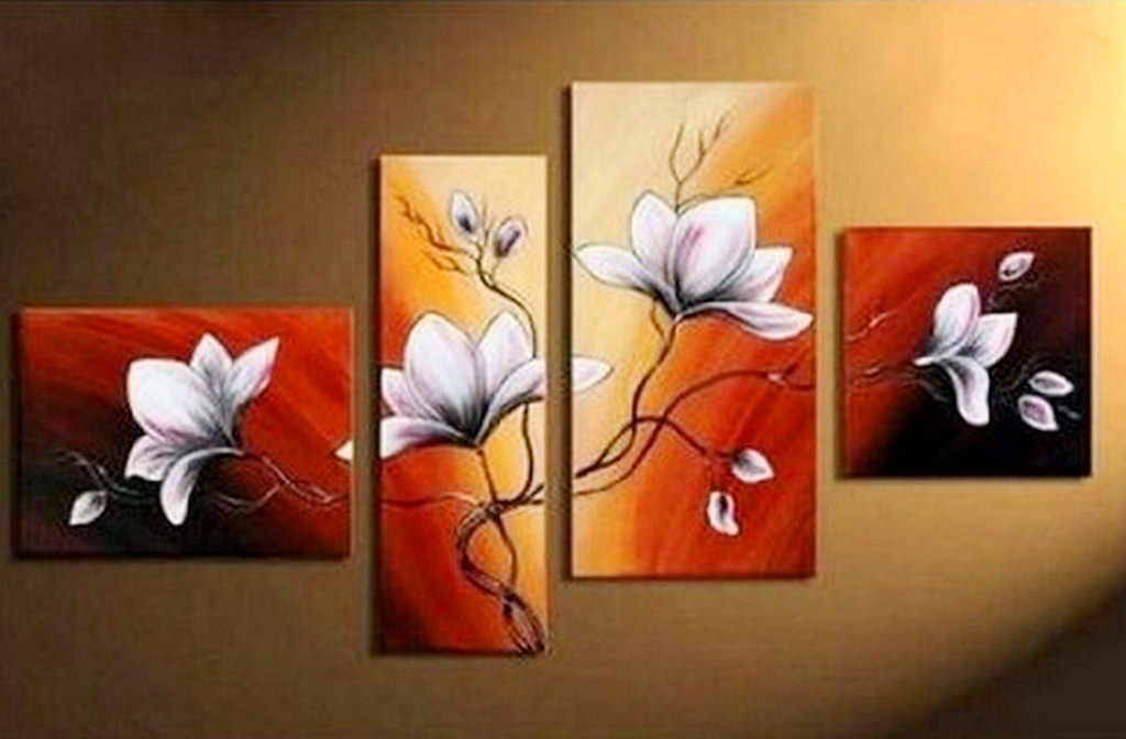 Cuadros Modernos Con Flores al