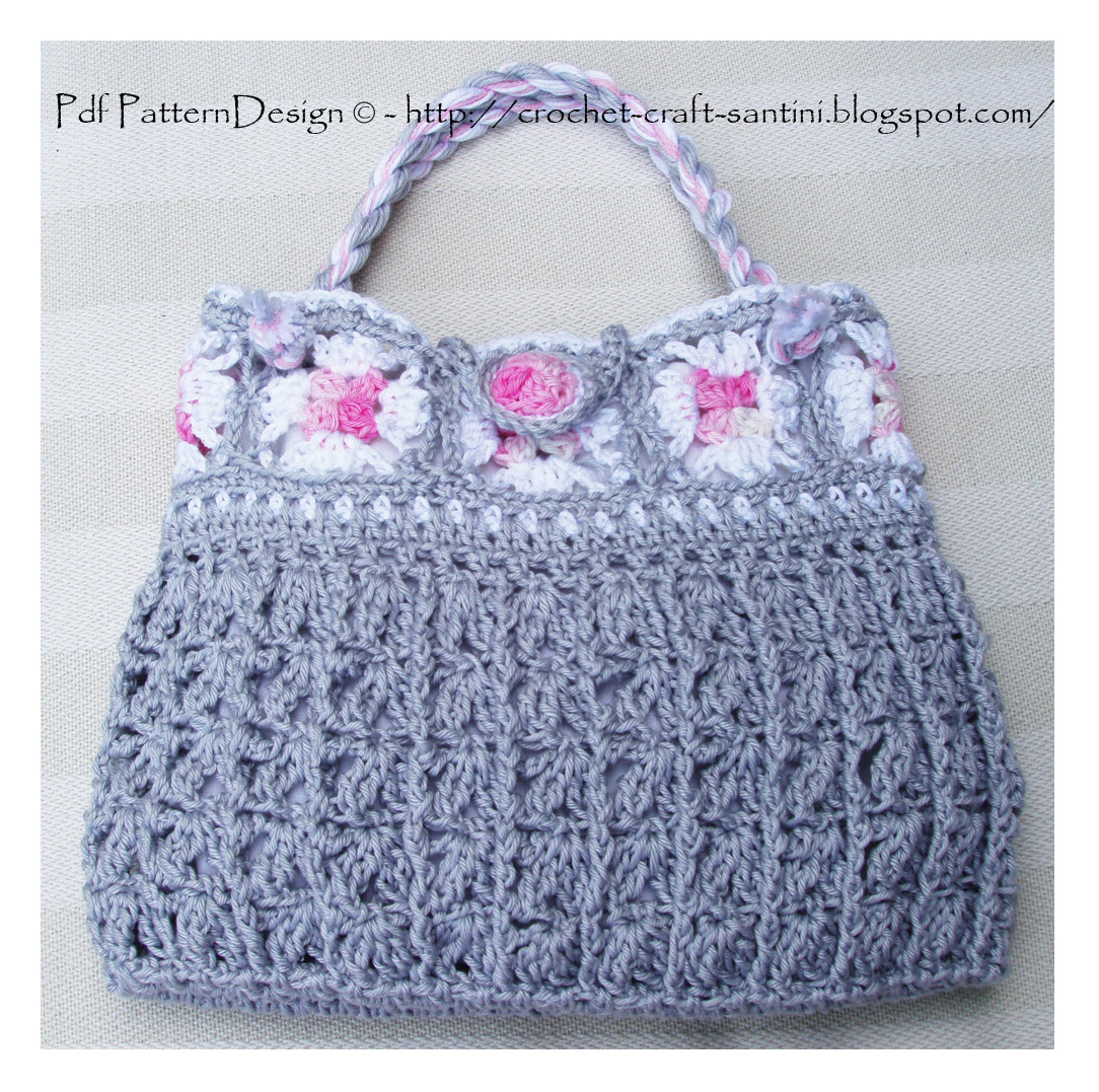 Crochet Granny Square Purse Pattern : See more images and find The pattern for instant download here: