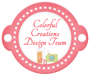 Colorful Creations Former Design Team Member - 2013