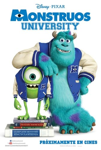 Cartel Monstruos University
