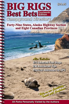 'Big Rigs Best Bets Campground Directory' publishes 14th edition