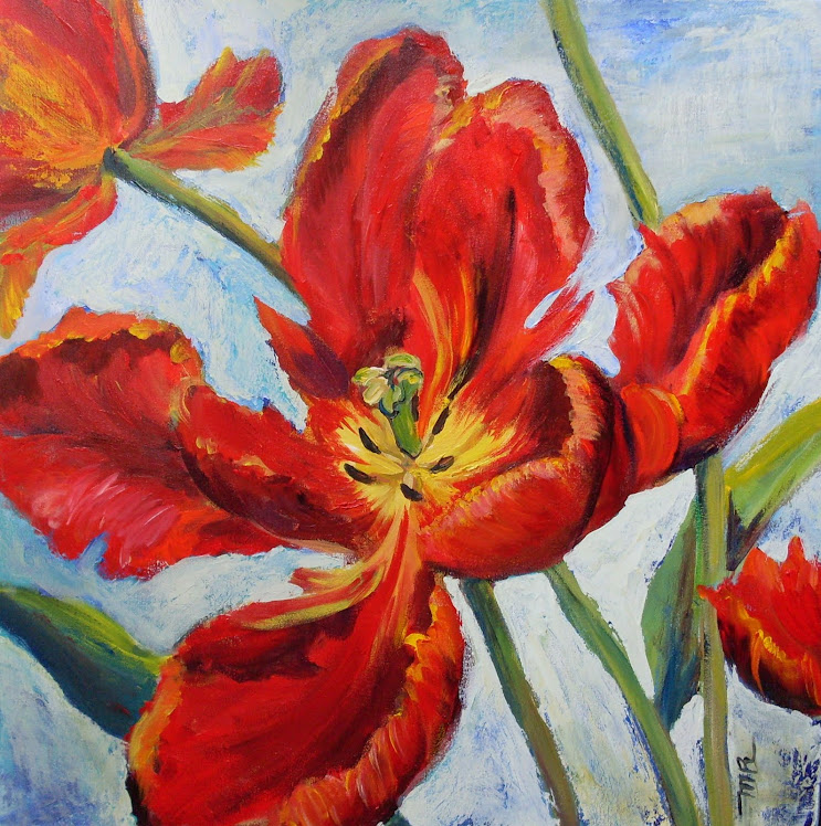 Tulipes rococo