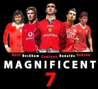 Legenda Jersey No. 7 Manchester United