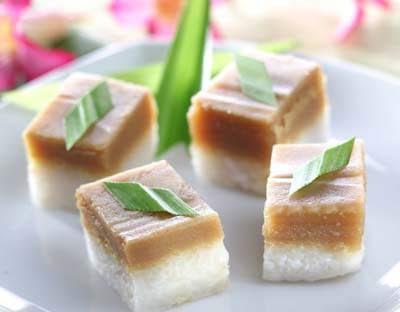 Resep Kue Ketan Lapis Srikaya