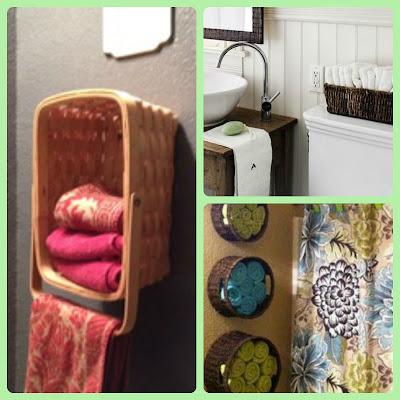 Organizar o banheiro | Cestos