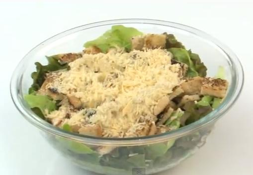 Ensalada cesar video