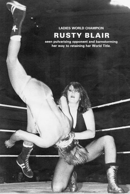 More of UK Pro Lady Wrestler Rusty Blair