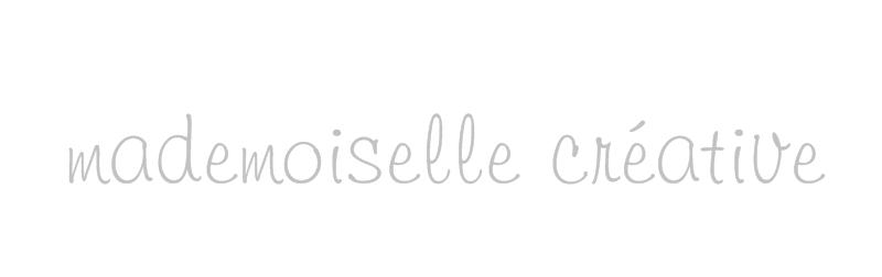 # mademoiselle créative