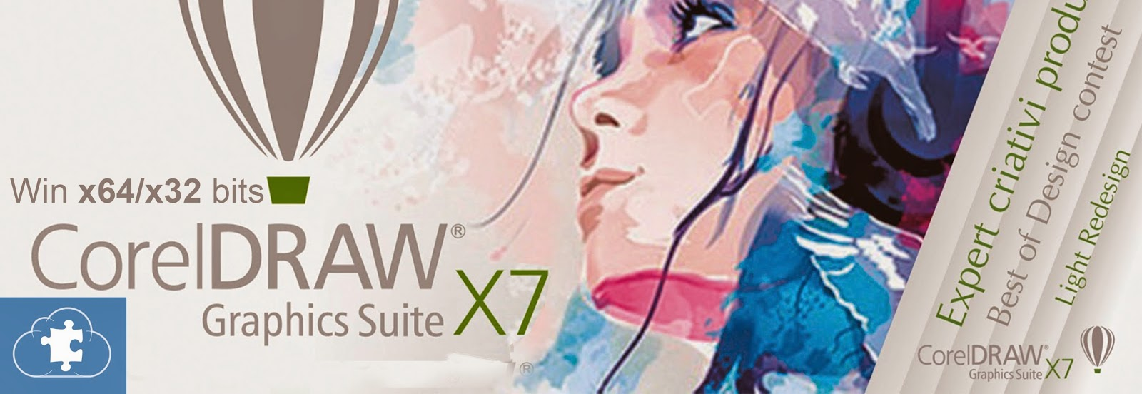 CorelDRAW Graphics Suite X7 | Win x64/x32 bits | ESPAÑOL - INGLES
