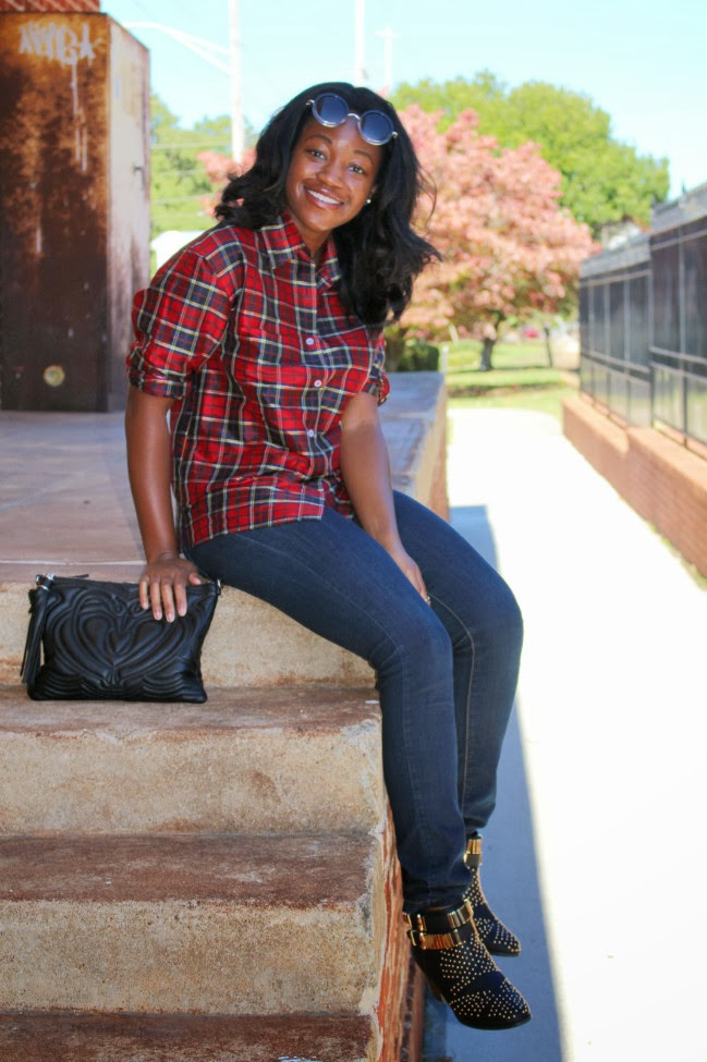 Ashley Udoh Plaid Shirt