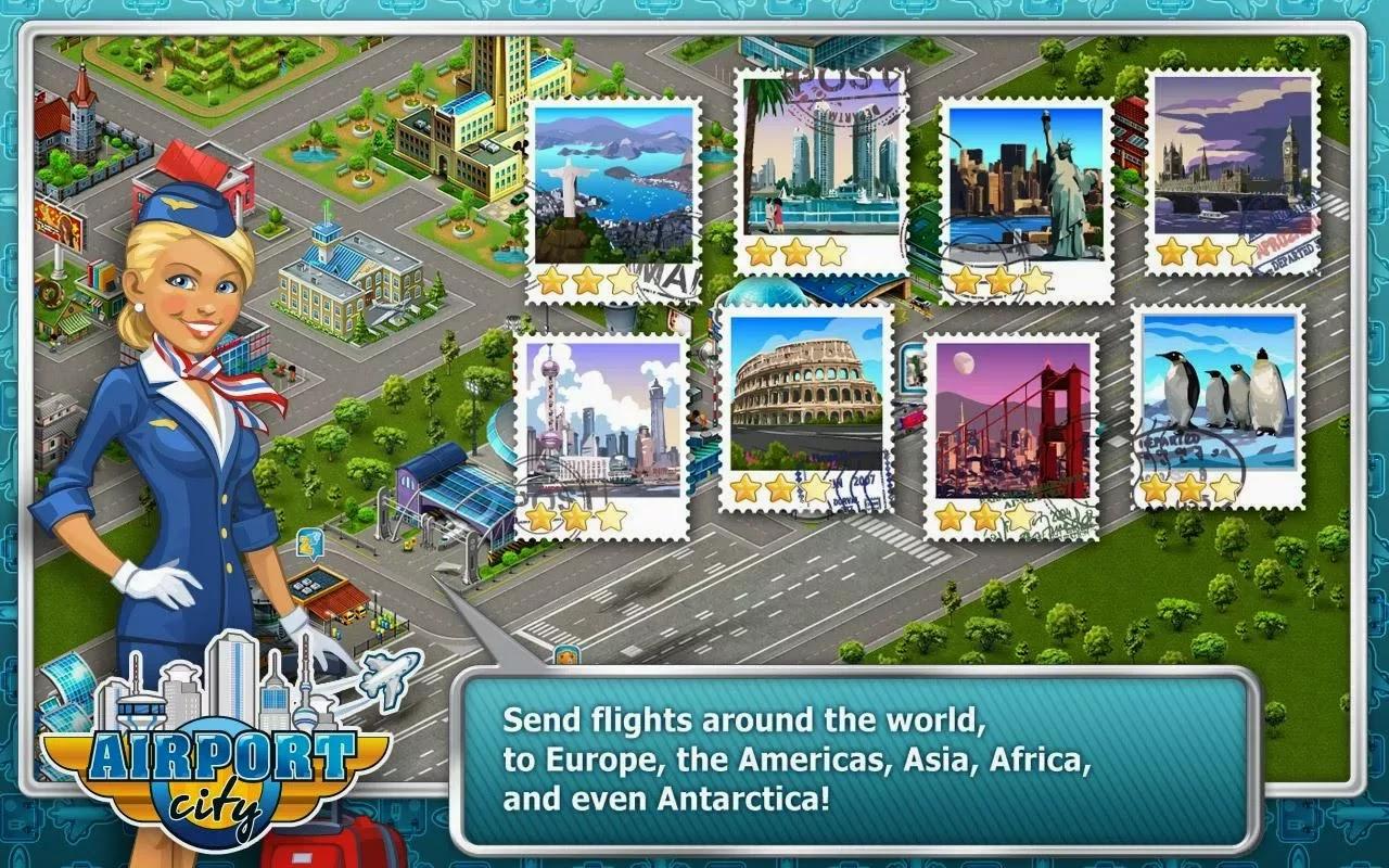 Airport City v2.11.01 [Mod Money]