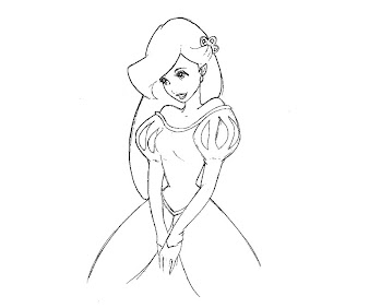 #8 Ariel Coloring Page