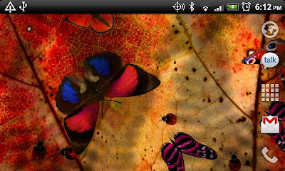 Friendly Bugs Live Wallpaper app download
