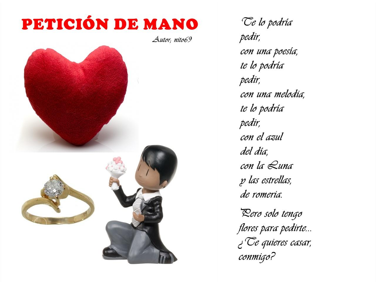 PETICIÓN DE MANO