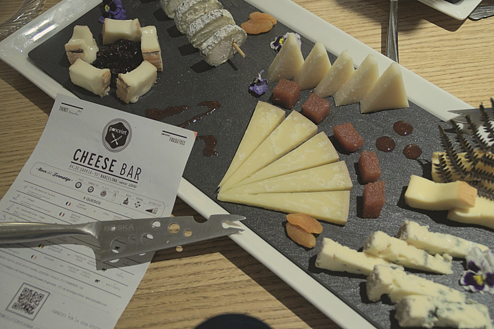 Poncelet Cheese Bar Barcelona