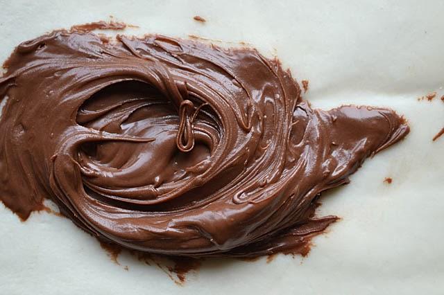 Blätterteig Nutella