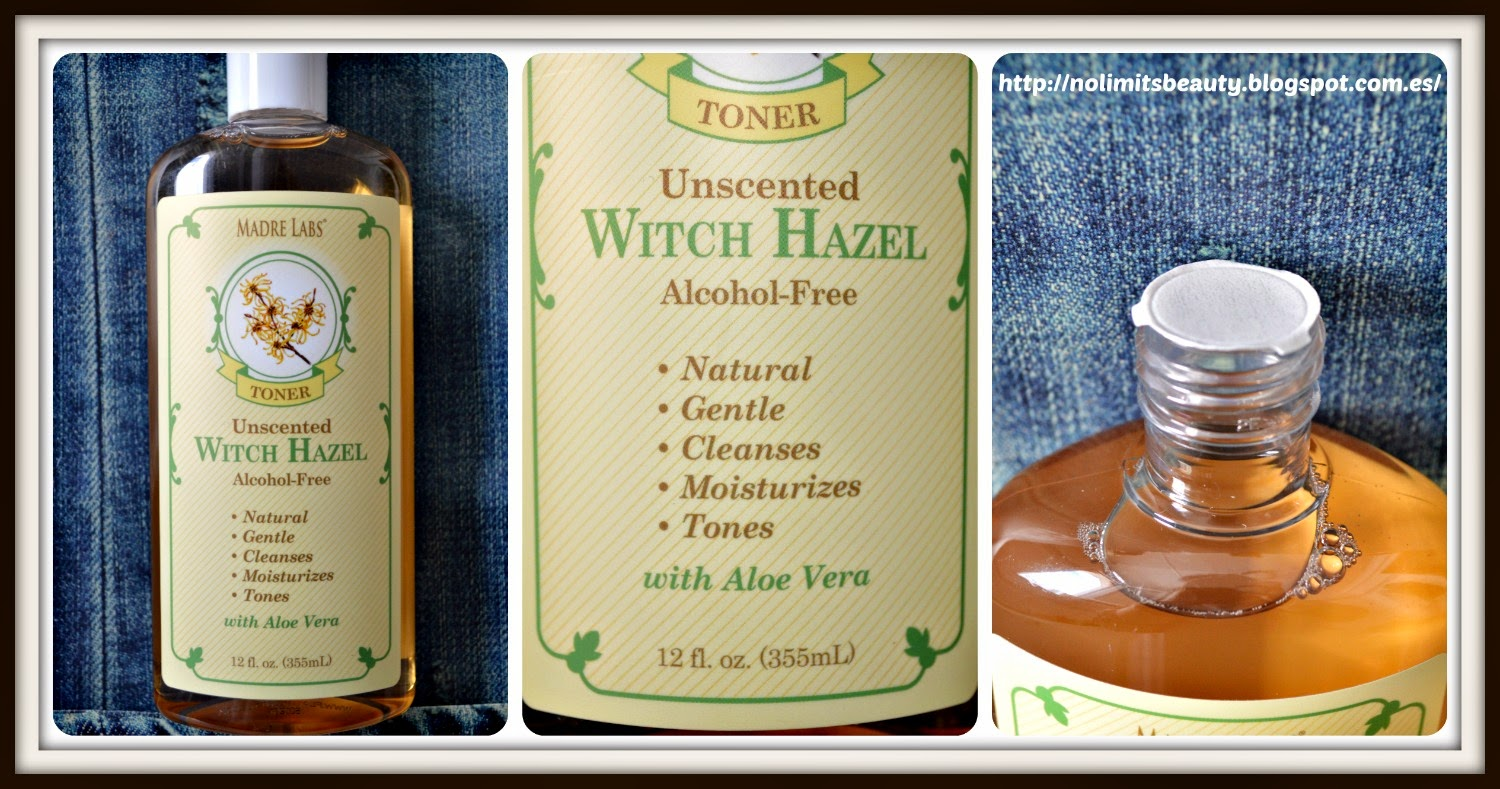 Madre Labs - Unscented Witch Hazel Alcohol Free