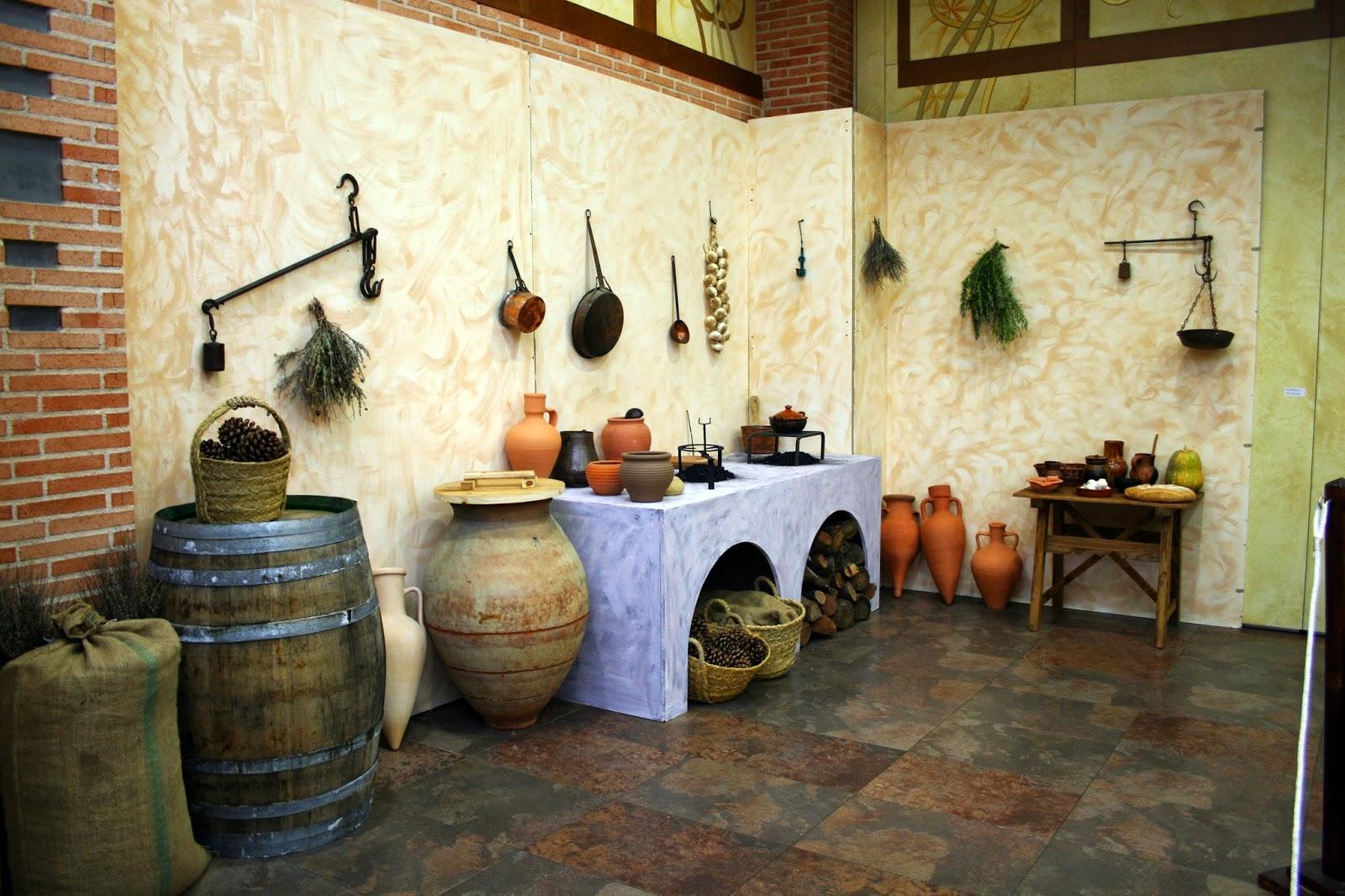 domvs romana coquus artista en la cocina romana