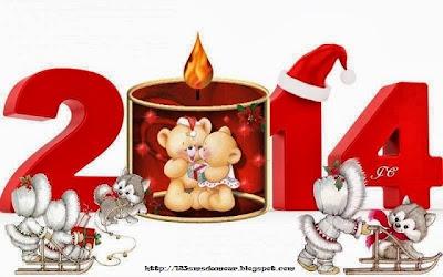 sms bonne année 2014 - souhaiter bonne année par sms