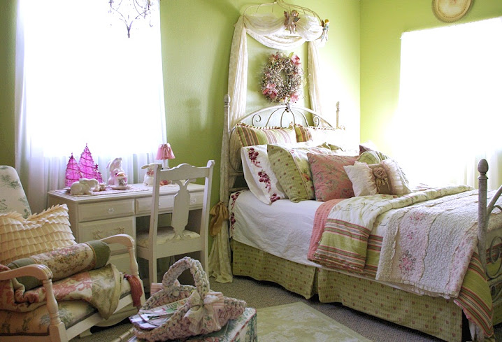 Tea Rose Bedroom