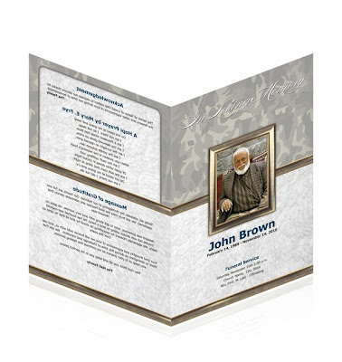 Funeral Announcements Templates