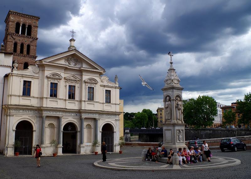 Basilika San Bartolomeo all'Isola auf der Tiberinsel (Rom)