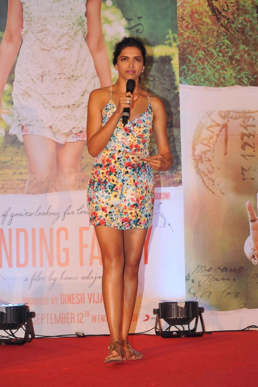 Deepika Padukone at Finding Fanny Music Launch