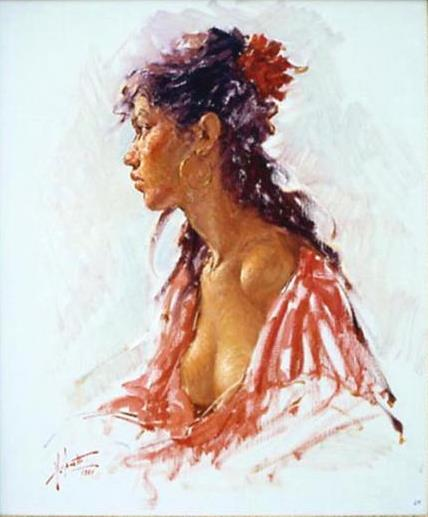 Angelo Batti 1933 | Italian Figurative painter