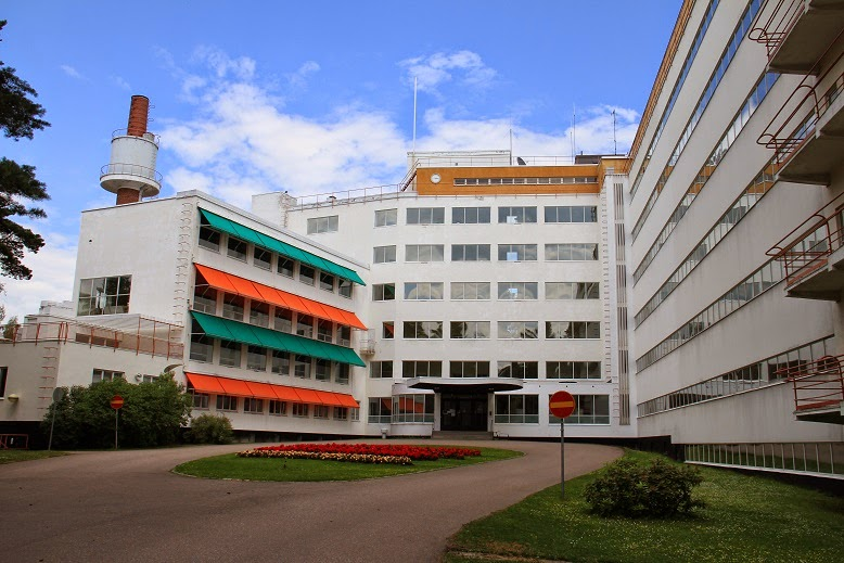 paimio sanatorium Lee f mindel travels to finland's paimio sanatorium, one of architect alvar aalto's most impressive—and inspiring—buildings nestled in the woods in southwestern finland is the alvar aalto .
