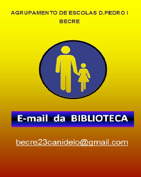 EMAIL DA BIBLIOTECA