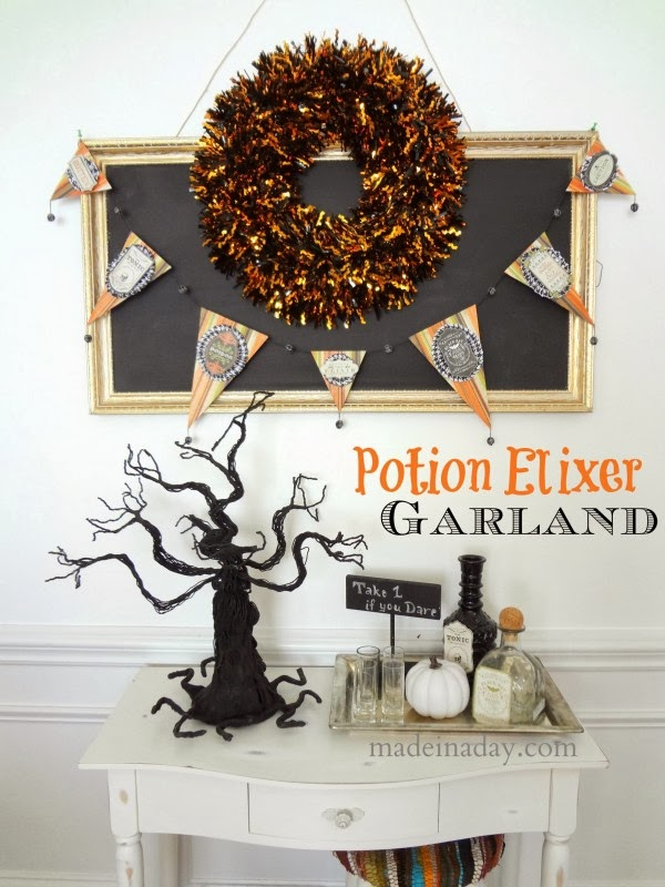 Halloween banner bunting