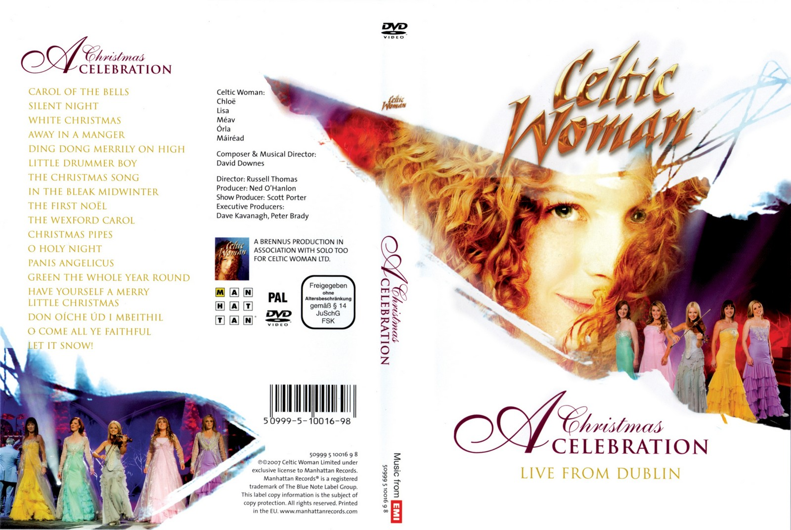 celtic woman a christmas celebrationc
