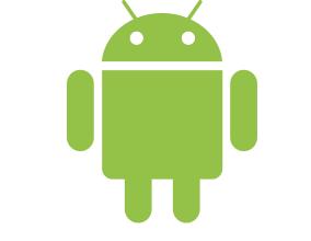 Zelený maskot android