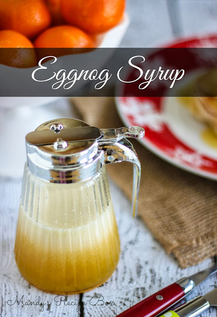 eggnog syrup