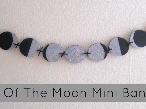 Phases Of The Moon Mini Banner DIY