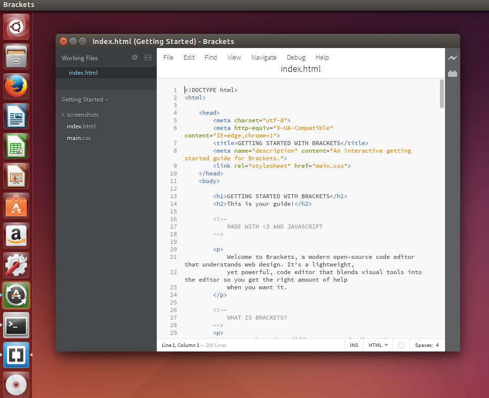 How To Install Brackets Code Editor On Ubuntu 14.10/Linux ...