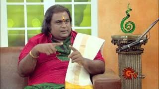 Virundhinar Pakkam – Sun TV Show 10-06-2014 Dr. S. Karthick, கடம் வித்வான்
