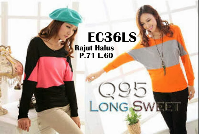 LONG SWEET BLOUSE EC36LS