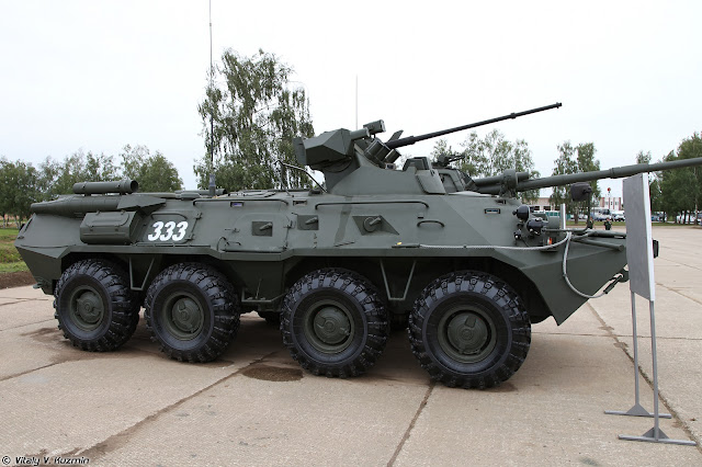 BTR-82A fighting vehicle