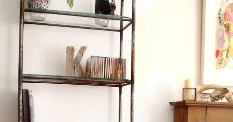 Kp tienda vintage online estanter a vintage industrial for Repisas estilo industrial